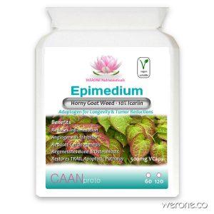 Epimedium – Horny Goat Weed – 500mg Capsules
