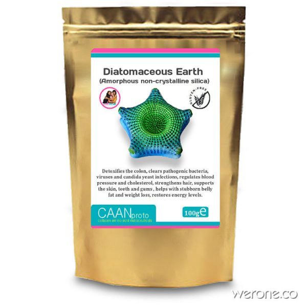 Diatomaceous Earth Powder for colon, viruses and weight loss (100g)