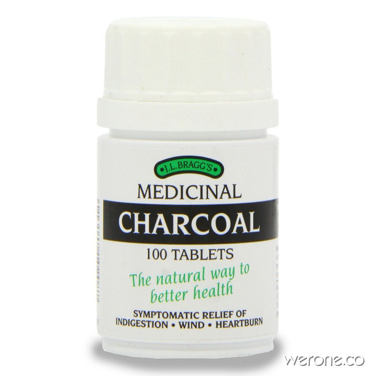 Bragg's Activated Charcoal - 100 Tablets