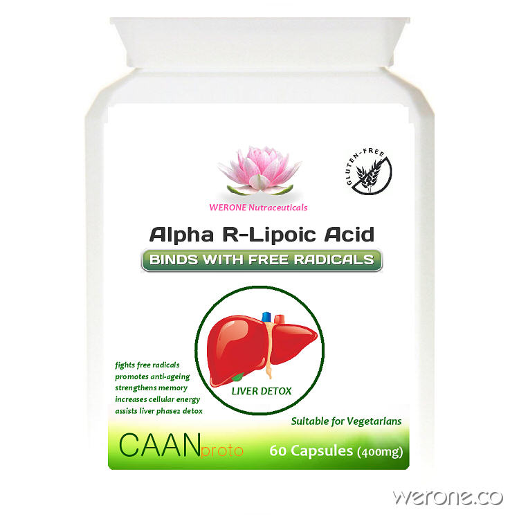 R-Alpha Lipoic Acid (Most Potent Form)