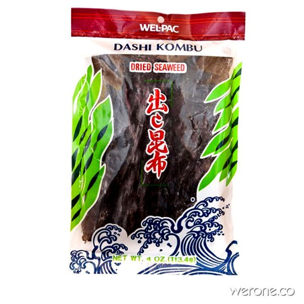 Kombu Seaweed -  for Bone Broth & Soups 113g