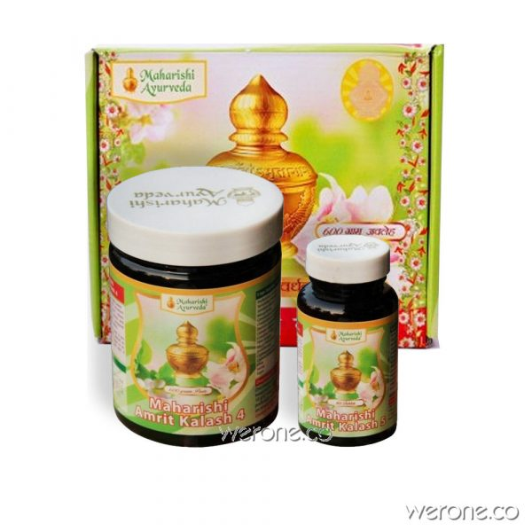 Amrit Kalash - MAK 4 & 5- Herbal Nectar 600g + Ambrosia  60 Tablets
