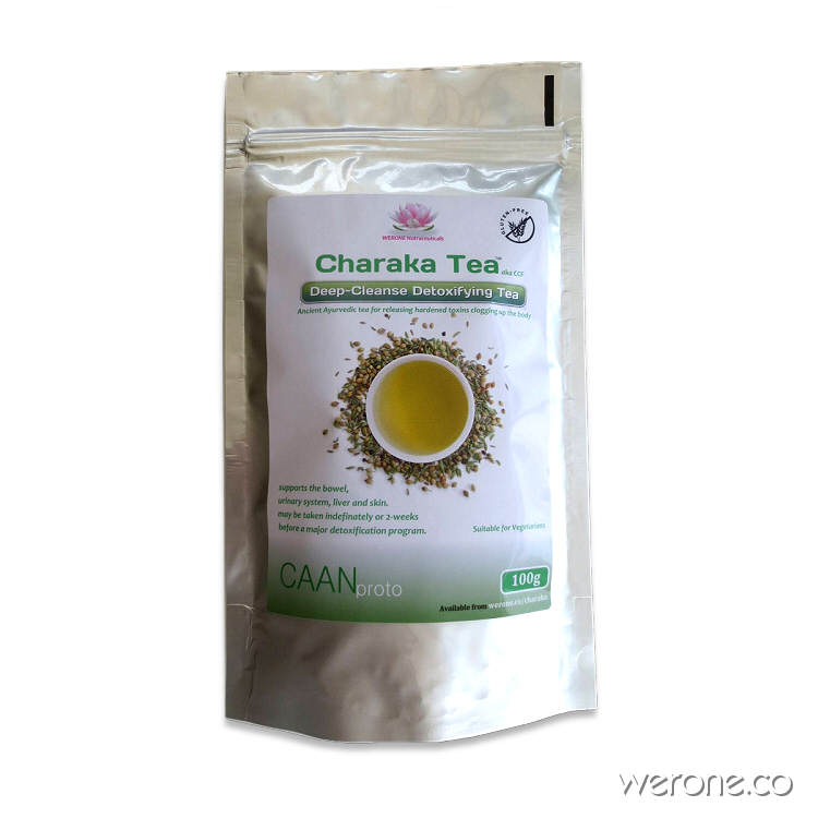Charaka Tea - for digestion, mental clarity and detox – 100g