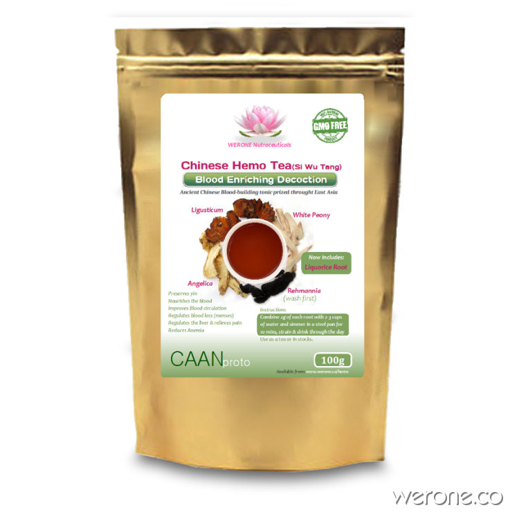 Chinese Hemo Tea - (Blood Tonic) 100g