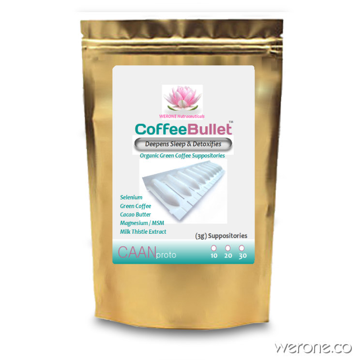 Coffee Bullet™ Suppository (10 - 30 Pack)