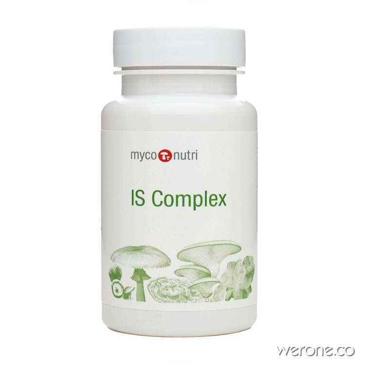 MycoNutri IS Complex - 60 to 360 Capsules