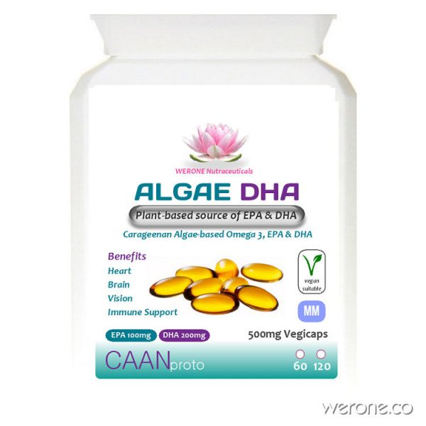 Algae DHA - Plant-based source of EPA & DHA (Omega 3)