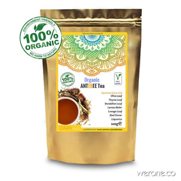 Antebee Tea - 7 Organic Antiviral Herbs for EBV and HCV - 75g
