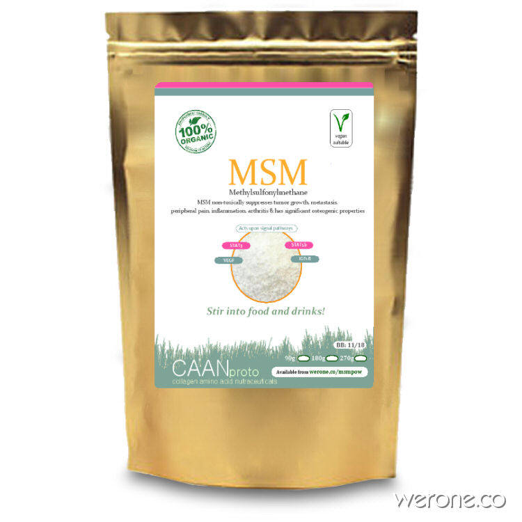 Msm Powder – sulphur for pain, mets and detox