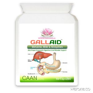 GallAid – promotes digestion of proteins, carbohydrates & fats
