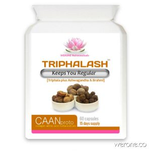 Triphalash (Organic) – Keeps You Regular – 60 Vcaps