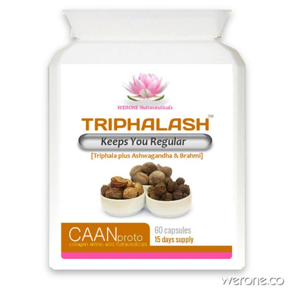 Triphalash (Organic) - Keeps You Regular - 60 Vcaps