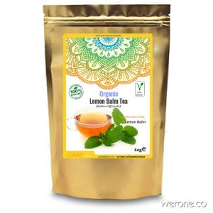 Lemon Balm Tea (Organic)  – 60g