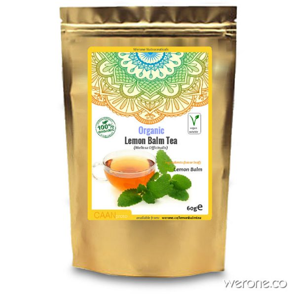 Lemon Balm Tea (Organic)  - 60g