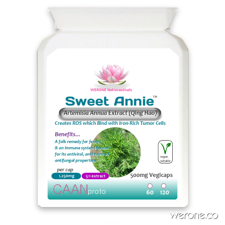 Sweet Annie (Artemisia annua 5:1 extract) 1,250mg