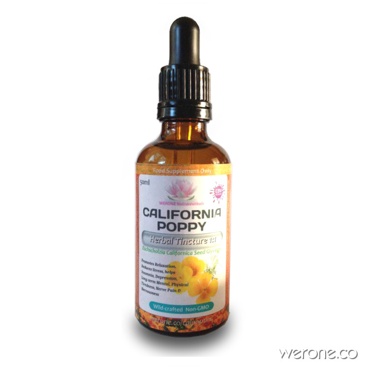 California Poppy – Alcohol-Free Glycerite Tincture