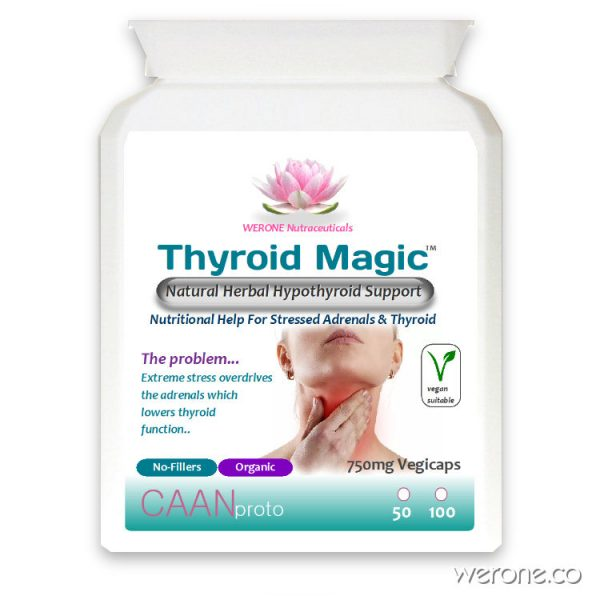 Thyroid Magic™ - Natural Herbal Hypothyroid Support