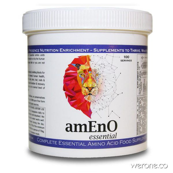 amEnO Essential Amino Acids for Vegans - 250g