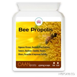 Bee Propolis (Antibiotic, Anti-inflammatory)