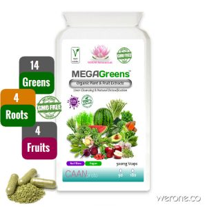 MEGAGreens™ – Super Greens Capsules