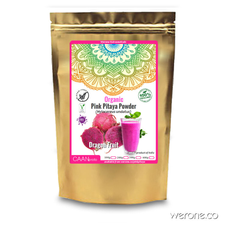 Pink Pitaya Powder (Dragon Fruit) Organic