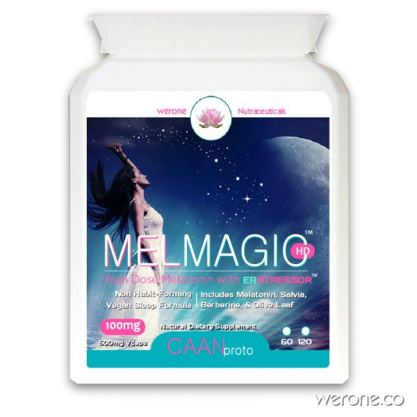 MelMagic™ HD - Melatonin Formula with ER Stressor™ (100mg)