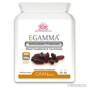 EGAMMA™ High Gamma Vitamin E – 400mg