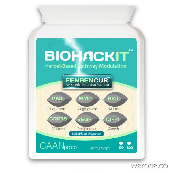 FENBENCUR™ with Curcumin & Milk Thistle (2 Versions)