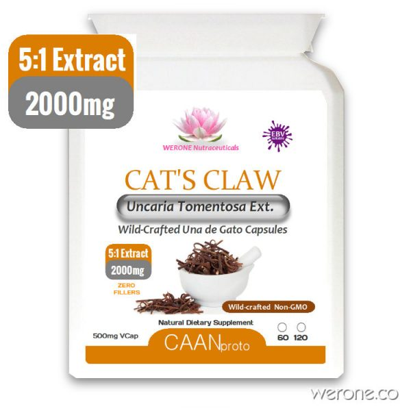 Cat's Claw 5:1 Extract 2000mg VCaps