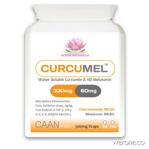CURCUMEL™ – HD 60mg Melatonin with Curcuminoids