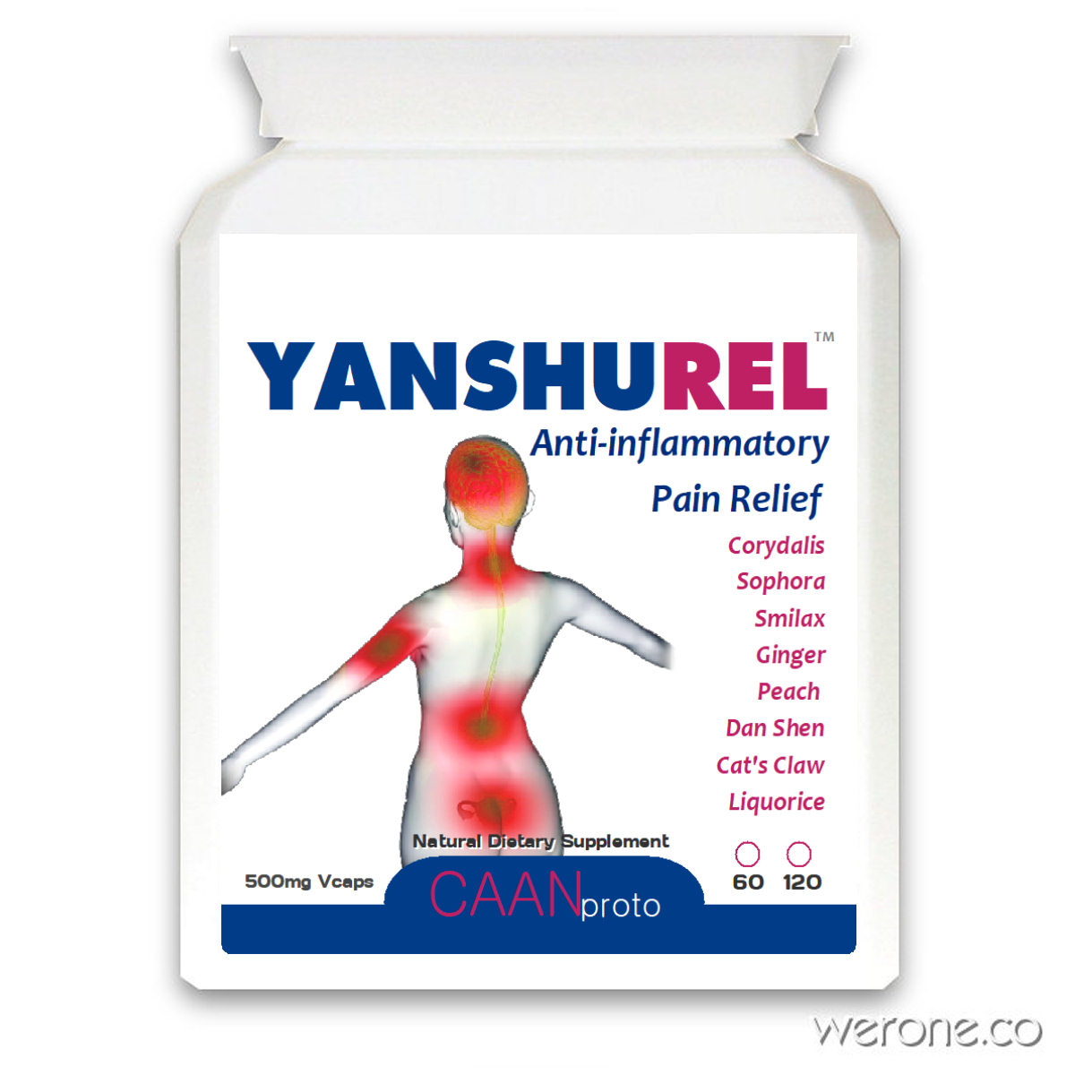 Yanshurel Pain-Relieving Capsules